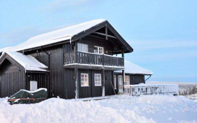 Hyra stuga i Branäs under vintern