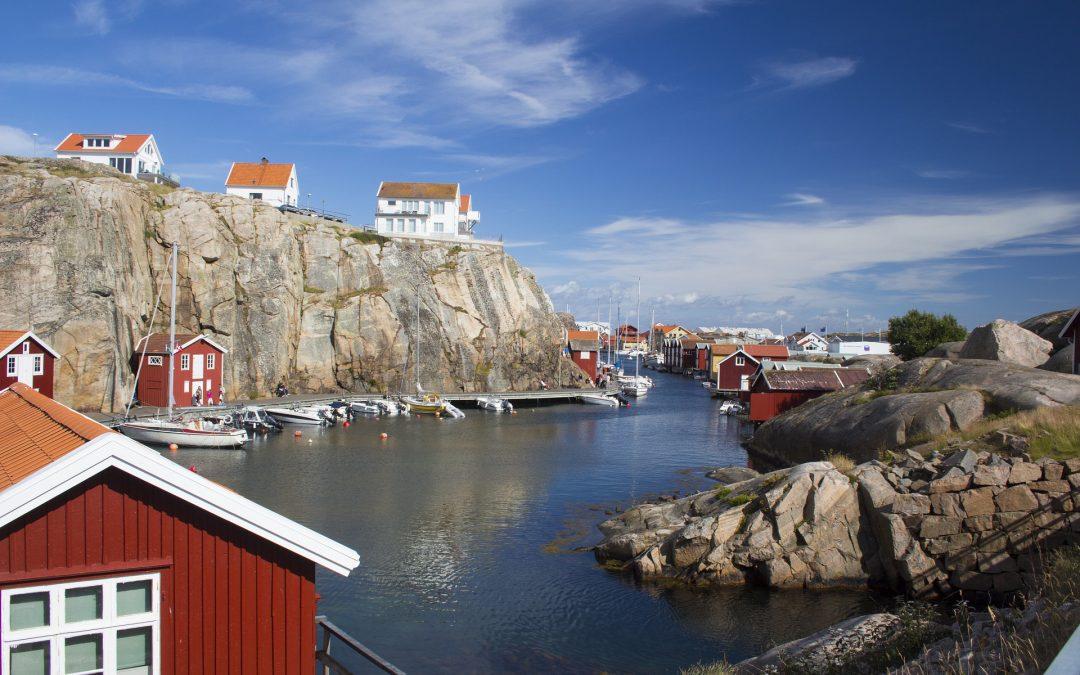 Hyr stugor i Bohuslän under sommaren