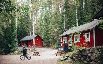 Så här hittar du campingstugor
